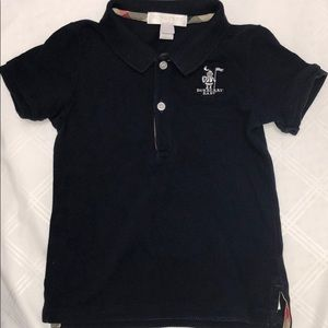 Burberry polo for baby boy!